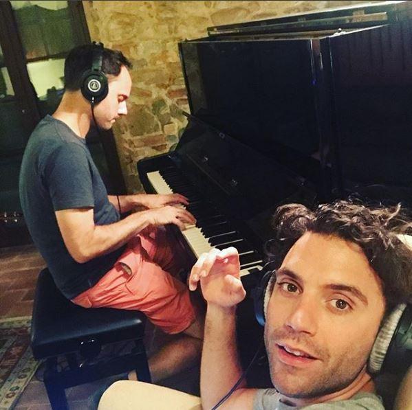 Studio nagrań w domu Miki